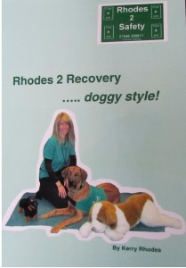 A fantastic book about canine first aid - full of entertaining stories and first rate advice on performing canine first aid procedure which might just save their life. If you only get one first aid manual, make it Rhodes 2 Recovery ... doggy style!