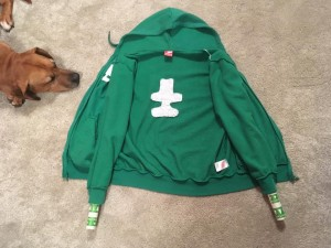 hoodie stretcher two arms
